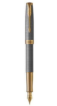 Перьевая ручка Parker SONNET 17 Cisele Silver GT FP F 88 211