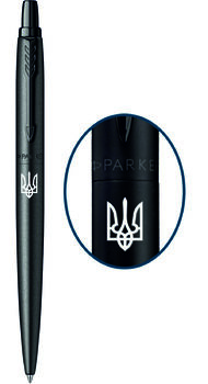 Шариковая ручка Parker JOTTER 17 XL Monochrome Black BT BP Трезубец 12 432_TR
