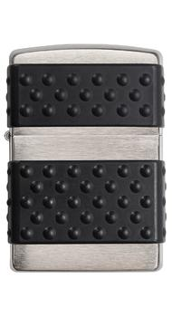 Зажигалка Zippo BRUSH CHROME ZIP GUARD 200ZP