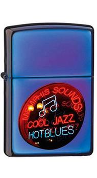 Зажигалка Zippo JAZZINN BLUES 20614