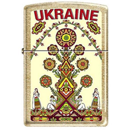 Зажигалка Zippo UKRAINE TREE 207GUT