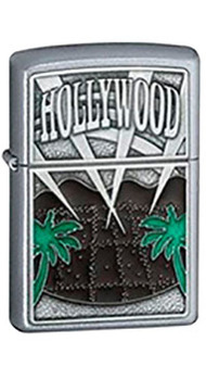 Зажигалка Zippo HOLLYWOOD PALM TREES 21056