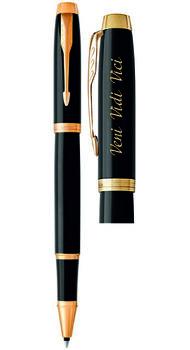 Ручка-роллер Parker с гравировкой Veni, Vidi, Vici  22 022v