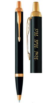 Шариковая ручка Parker с гравировкой Veni, Vidi, Vici 22 032v