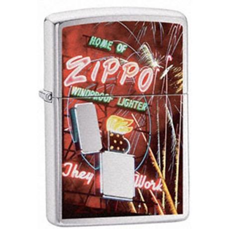 Зажигалка Zippo 200 ZIPPO NEON SIGN 24069