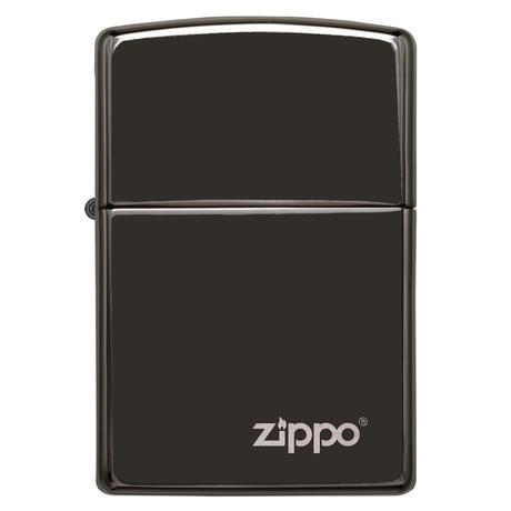 Зажигалка Zippo EBONY ZIPPO - LASERED 24756ZL