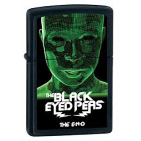 Зажигалка Zippo 218 BLACK EYED PEAS зеленая 28026