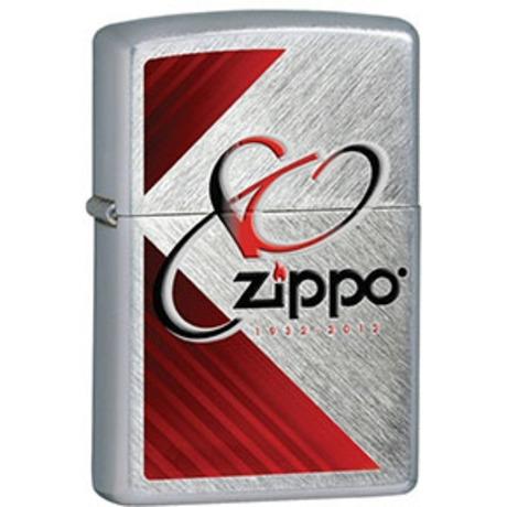 Зажигалка Zippo 80th ANNIVERSARY HERRINGBONE SWEEP 28192