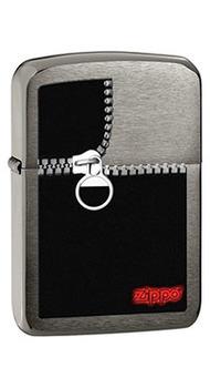 Зажигалка Zippo ZIPPED BLACK ICE 28326