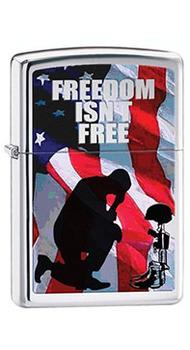 Зажигалка Zippo FREEDOM ISN'T FREE 28336