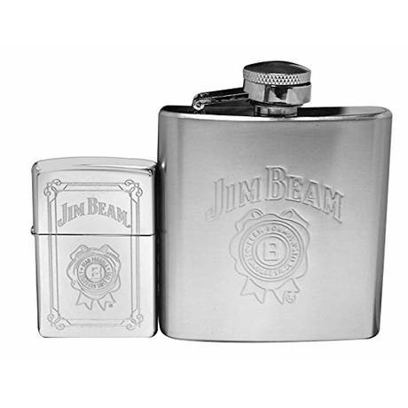 Подарочный набор с Флягой Zippo Jim Beam Flask 28414