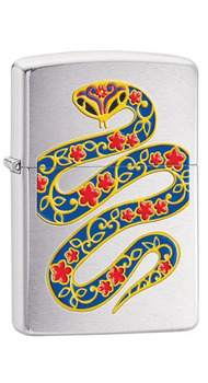 Зажигалка Zippo 200 YEAR OF THE SNAKE 28456