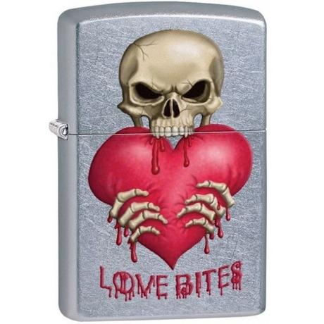 Зажигалка Zippo 207 LOVE BITES 28464