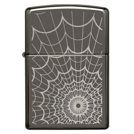 Зажигалка Zippo 150 Black ICE Web All Over 28527