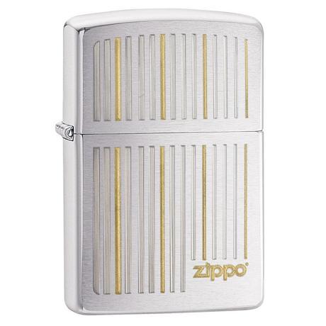 Зажигалка Zippo Engraved Vertical Lines 28646