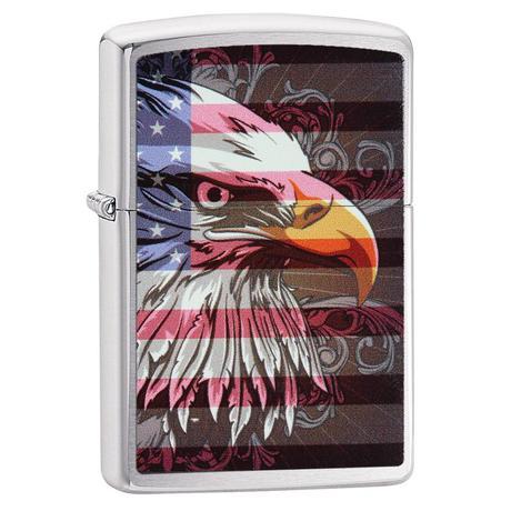 "Зажигалка Zippo ""Eagle Flag"" 28652"