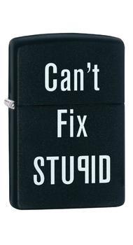 Зажигалка Zippo 218 Cant Fix Stupid 28664
