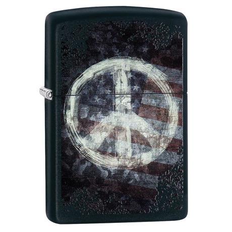 Зажигалка Zippo 218 Peace On Flag 28864