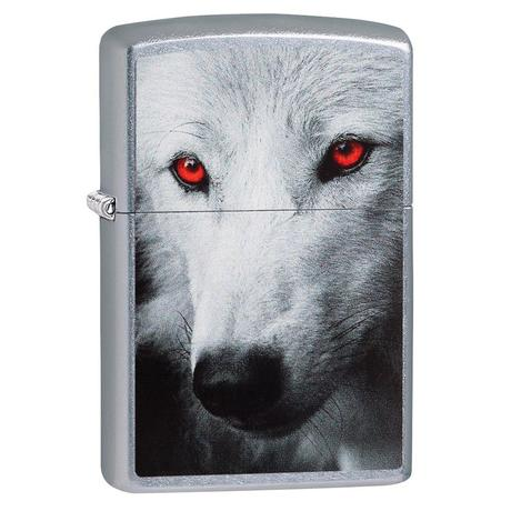 Зажигалка Zippo 207 Wolf With Red Eyes 28877