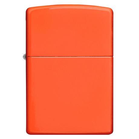 Зажигалка Zippo Reg Neon Orange Lighter 28888