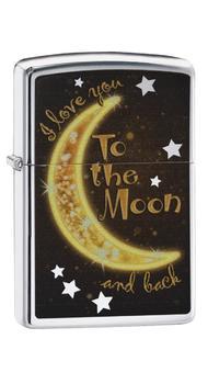 Зажигалка Zippo 250 Golden Moon 29059
