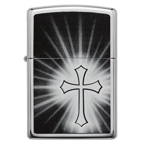 Зажигалка Zippo 250Reflective Cross 29074