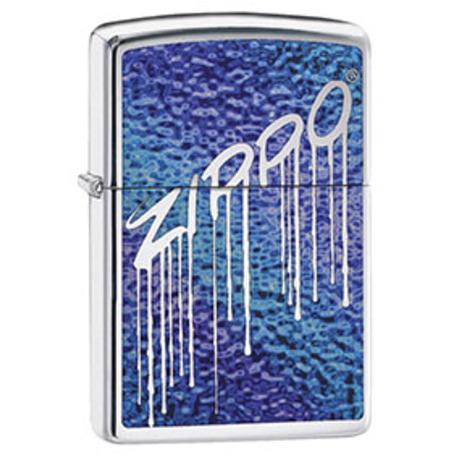 Зажигалка Zippo Fuzion Liquid Logo 29097