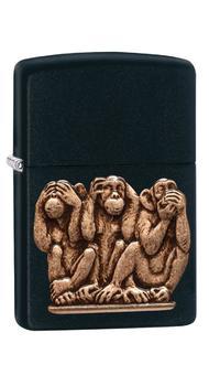 Зажигалка Zippo 218 Three Monkeys 29409
