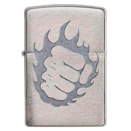 Зажигалка Zippo 200 Tattoo Fire and Fist 29428