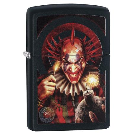 Зажигалка Zippo 218 Anne Stokes Sinister Clown Windproof Collection 29574