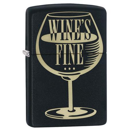 """Зажигалка Zippo 218 Wine""""s Fine Design 29611"""