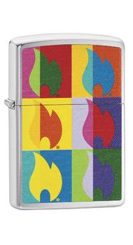 Зажигалка Zippo 200 Abstract Flame Design 29623
