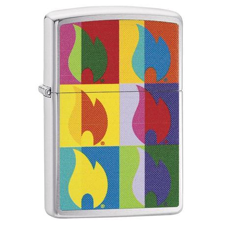 Зажигалка Zippo 200 Abstract Flame Design 29623