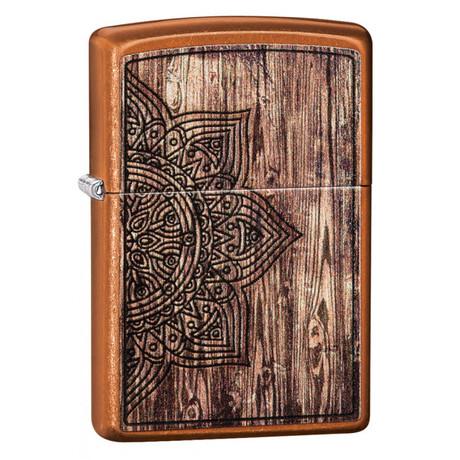 Зажигалка ZIPPO 21184 Wood Mandala Design 29828
