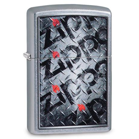Зажигалка ZIPPO 207 Diamond Plate Zippos Design 29838