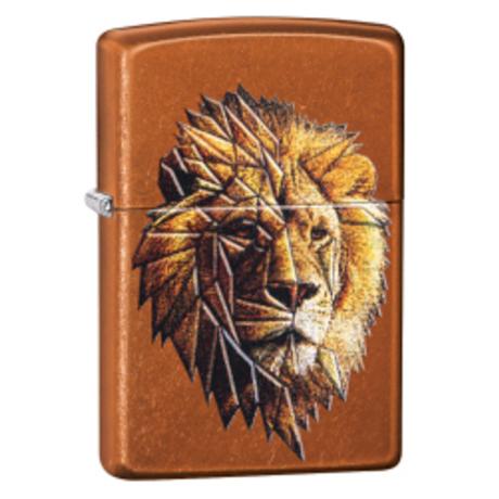Зажигалка ZIPPO 21184 Polygonal Lion Design 29865