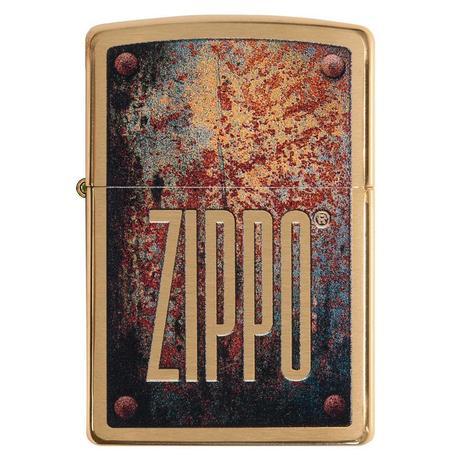 Зажигалка ZIPPO 204B Rusty Plate Design 29879