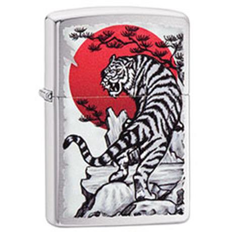 Зажигалка ZIPPO 200 Asian Tiger Design 29889