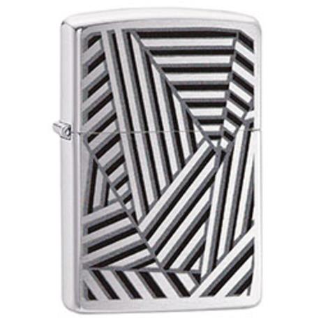 Зажигалка ZIPPO 200 PF19 Grid Lines Design 29914