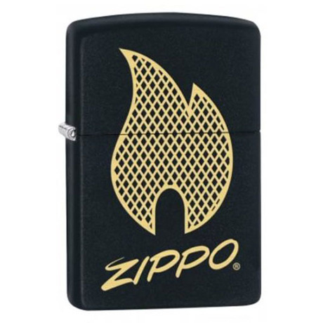 Зажигалка Zippo 218 PF18 Zippo Script Logo Design 29686
