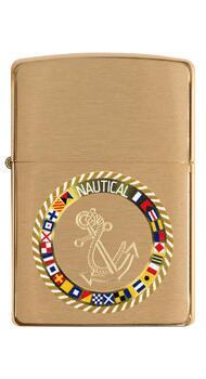 Зажигалка Zippo 204B Nautical Flags Design 49128