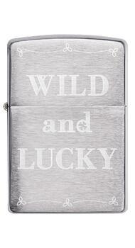 Зажигалка Zippo 200 Wild And Lucky Design 49256