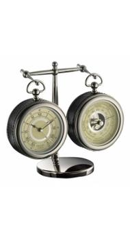 Часы и барометр Dalvey настольные с подставкой