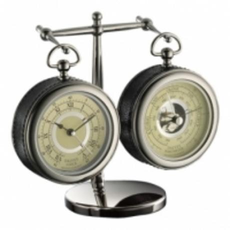 Часы и барометр Dalvey настольные с подставкой D00472