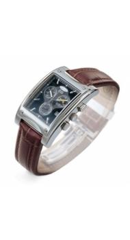 Часы Dalvey Grand Tourer Chronograph коричневые