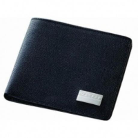 Портмоне Dalvey горизонтальное черное D00465