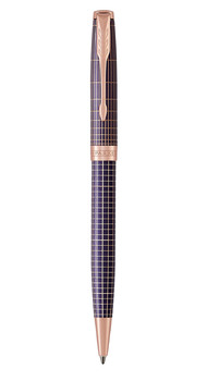 Шариковая ручка Parker SONNET 17 Cisele Silver Purple Matrix PGT BP 88 032