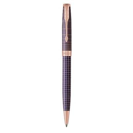 Шариковая ручка Parker SONNET 17 Cisele Silver Purple Matrix PGT BP 88 032