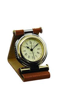 Часы дорожные Dalvey Travel GP в коричневой коже