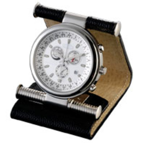Часы дорожные Dalvey World Traveller в коже  D00469